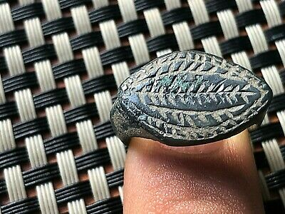 ANCIENT ROMAN BRONZE RING 3rd - 5th CENTURY AD VERY RARE