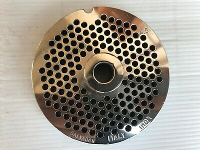Stainless Steel mincer plate 4.5 mm 32