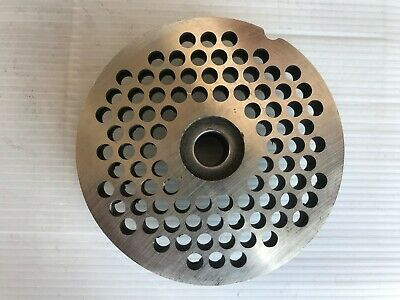 Italian made Stainless steel mincer plate 6mm 32