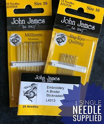 """7/"""" Upholstery Needle Curved Upholsterers Needle 17.5cm Hand Sewing"""