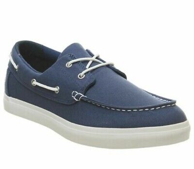 Timberland Newport Bay Womens Lace Up Canvas Navy Blue Shoes A17BS U95
