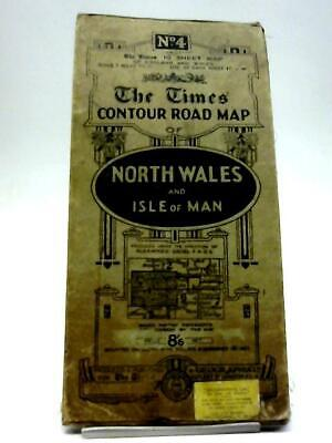 No 4. The Times Contour Road Map North Wales(The Times) (ID:13644)