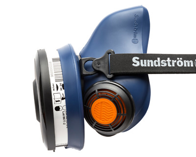Sundstrom SR100 Silicone Half Mask Size M/L with SR510 P3 Filter  FREE DELIVERY