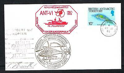 B.A.T. 1988 DEUTSCHE ANTARKTIS EXPEDITION cover