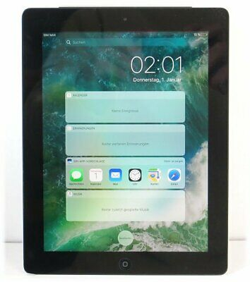 Apple iPad 4 WiFi + Cellular LTE/4G 32GB Tablet-PC schwarz-silber