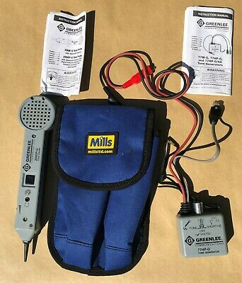 Mills Cable Toner/Tracer New  Tone Probe Cable Tracer Kit in Wallet  C00-1554.