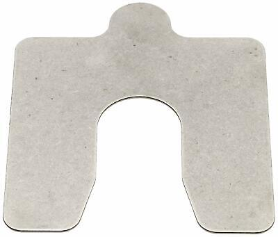 """302 Stainless Steel Slotted Shim, 2B Smooth Finish, 0.075"""" Thickness, 5"""" Width,"""