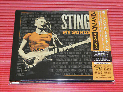 2019 JAPAN SHM CD STING My Songs DIGI SLEEVE with BONUS TRACK FOR JAPAN ONLY