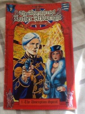 The Adventures Of Luther Arkwright  Comic