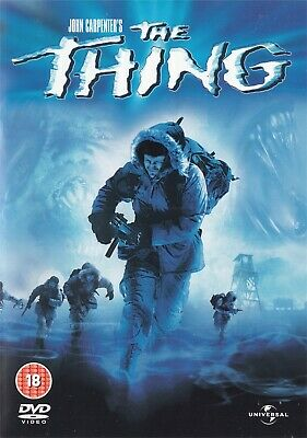 John Carpenter's The Thing - Kurt Russell - NEW Region 2 DVD