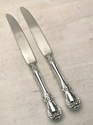 Old Master by Towle Sterling pair of Luncheon Knifes with Sterling Blades 8 7/8""