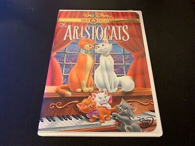 The Aristocats (DVD, 2000, Gold Collection) USA REGION 1