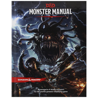Dungeons & Dragons - Monster Manual - Loot - BRAND NEW
