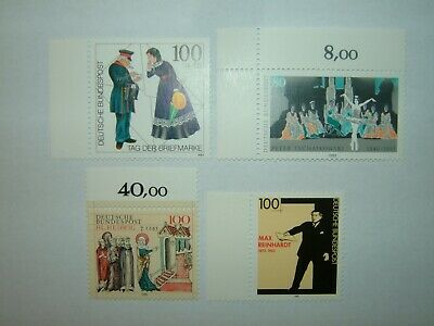 1993 GERMANY STAMPS SELECTION x 4 MINT NEVER HINGED (sg2540/48)