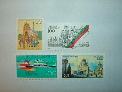 1993 GERMANY STAMPS SELECTION x 4 MINT NEVER HINGED (sg2520/23)