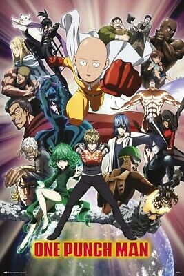 ONE PUNCH MAN - CHARACTER COLLAGE POSTER 24x36 - 53212