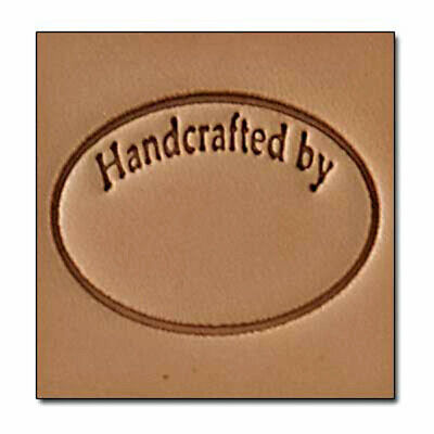 8689 Craftool Handcrafted By 3-D Stamp  Tandy Leather 8689-00