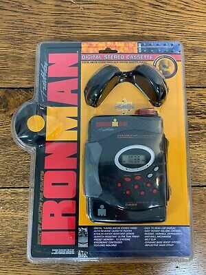 IronMan Walkman Triathlon AM/FM Stereo Vintage 1999 Cassette Player ICR250