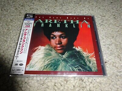 Aretha Franklin/'The Very Best Of…' *Japan New/Sealed 2017 Shm-Cd*