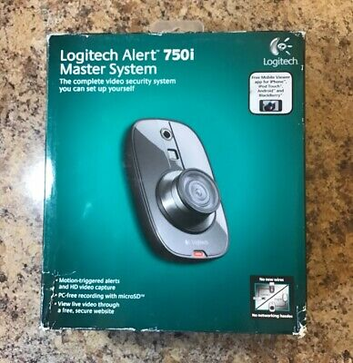b9bfdee1c1a LOGITECH ALERT 700I Indoor Master Security System (NO SD CARD) (IL ...