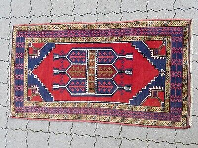 Alter Teppich Old Oriental Rug Carpet 156*87 cm