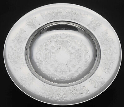 Mappin & Webb - Lovely Chased Pedestalled Small Dish - Silver Plated - Vintage