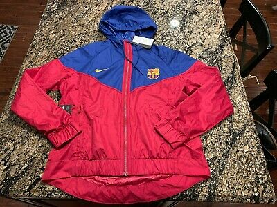 67d0d8470 Nike FC Barcelona NSW Windrunner Woven Authentic 892013-620 Womens Size  Medium M