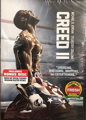 Creed 2, DVD 2019 Brand New Sealed!!! 2-Disc Special Edition, **free Shipping **