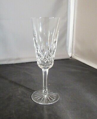 Waterford Crystal Lismore Champagne Glass Flute 7.25 In. Excellent 6 Available