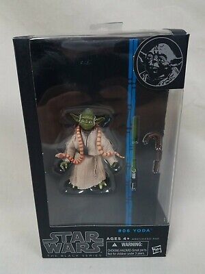 Star Wars The Black Series #06 Yoda Action Figure New In Package