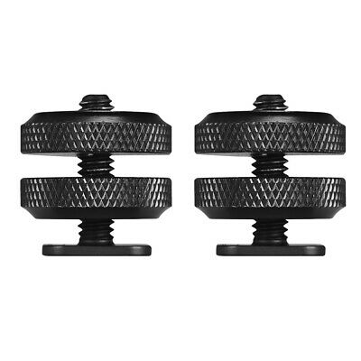 """Pro Type 1/4""""-20 Tripod Screw To Flash Hot Shoe Mount Adapter For DSLR Rig V7A7"""