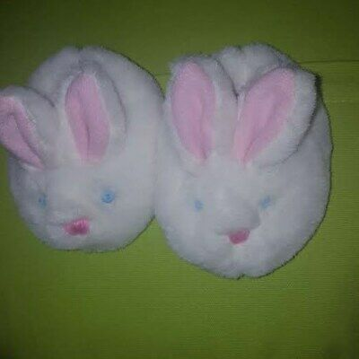 White Bunny Slippers Build A Bear Workshop Great Easter Gift