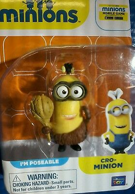 Cro Minions Action Figure Yellow Exclusive Caveman Toy Prehistoric Despicable Me