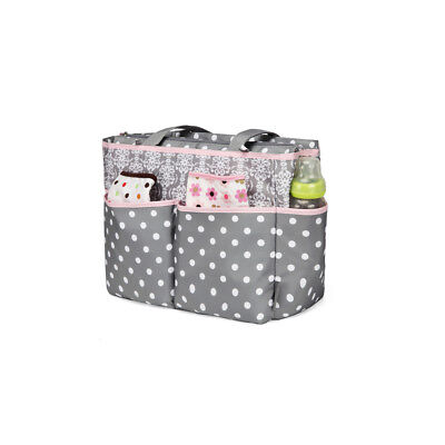 New Multi Sections Baby Diaper Nappy Backpack Fashionable Mommy Bag Detachable