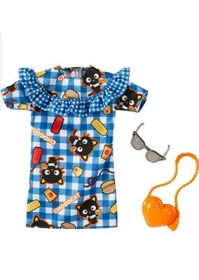 140ab34c5 Blue Hello Kitty Chococat Dress Fashion Pack, Barbie Hello Kitty Fashion  Pack