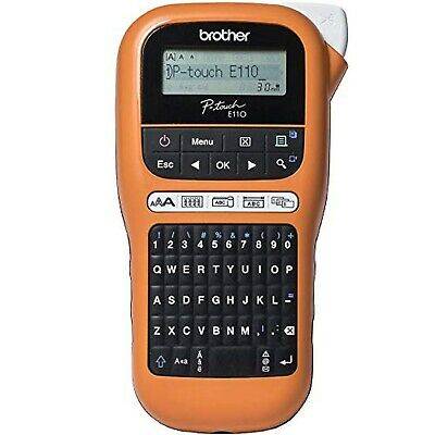 Brother PT-E110 P-Touch Electrician Labeller Handheld Label Printer