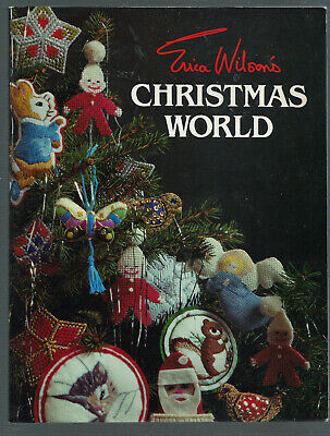 Erica Wiso's CHRISTMAS WORLD,  Embroidery/Cross Stitching, Soft Cover