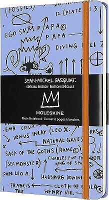 Moleskine Basquiat Special Edition Notebook, Blue Notebook with Hard Cover, E...