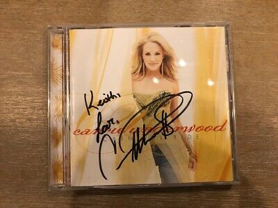 Carrie Underwood - Autographed CD - Carnival Ride - Signed!