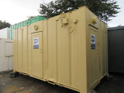 16ft x 9ft ANTIVANDAL TOILET BLOCK 3+1 SO 3 MALE AND 1 FEMALE TOILETS 2250 + VAT