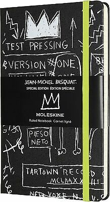 Moleskine Basquiat Special Edition Notebook, Black Notebook with Hard Cover, ...