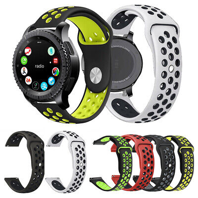 Sport Silicone Band Strap Bracelets For Samsung  Gear S3 Frontier/Classic 42mm