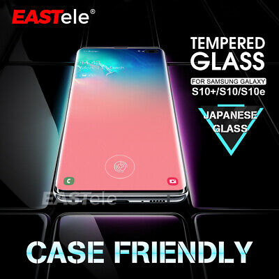 Samsung Galaxy S10 Plus S10e EASTele Tempered Glass Screen Protector Full Cover