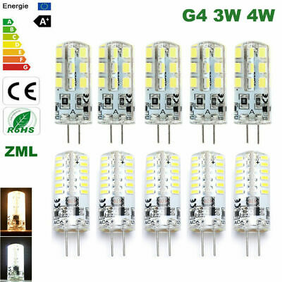 10 PCS 3W 4W DC12V G4 led Bulb halogen bulb Capsule light SMD Energy Saving LED