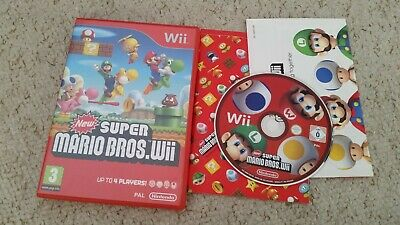 New Super Mario Bros Nintendo Wii kids game