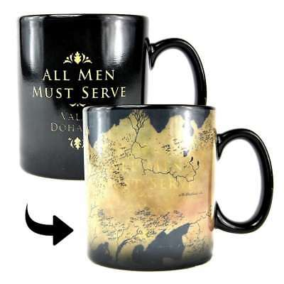 Game Of Thrones Westeros Map Heat Changing Magic Mug Coffee Cup New Gift Box