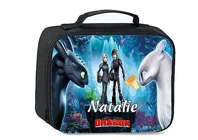 How to train your dragon School Insulated Lunch bag Personalised