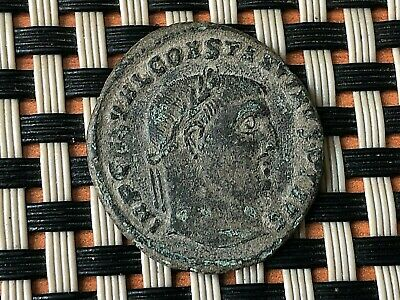 Constantine I The Great 308-337 Ad Ae Follis Ancient Roman Coin