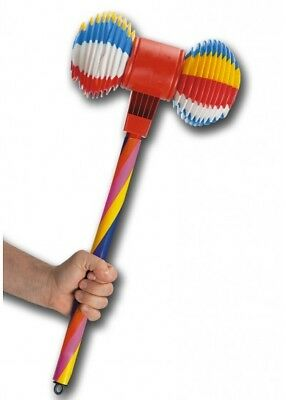 Adults Squeaky Halloween Circus Carnival Clown Hammer Joker Fancy Dress Prop
