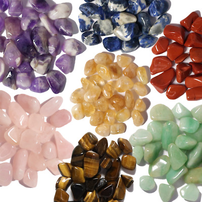 HEALING CRYSTALS TUMBLED STONES 10mm - 40mm SMALL, MEDIUM AND LARGE